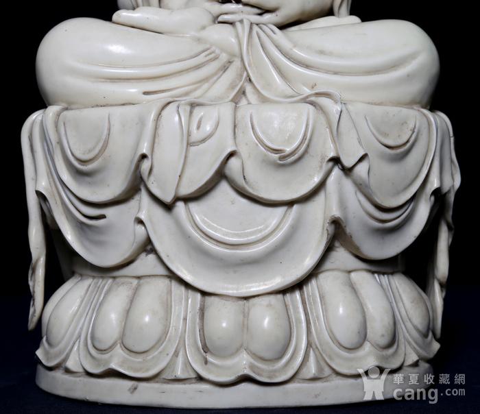 藏淘阁清中期德化窑如来大佛CN32图7