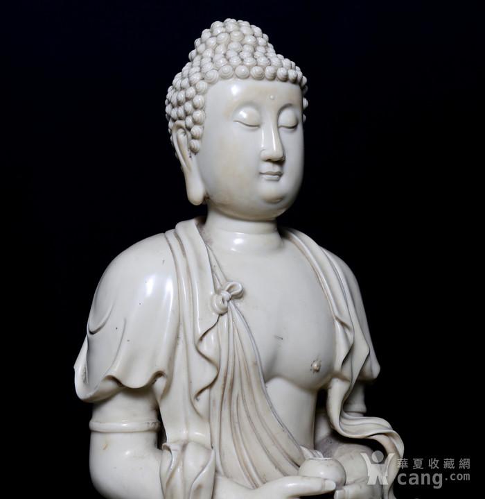 藏淘阁清中期德化窑如来大佛CN32图9