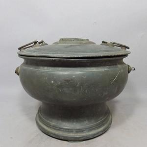 清代锡制火锅