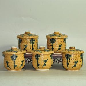 日本茶碗五个
