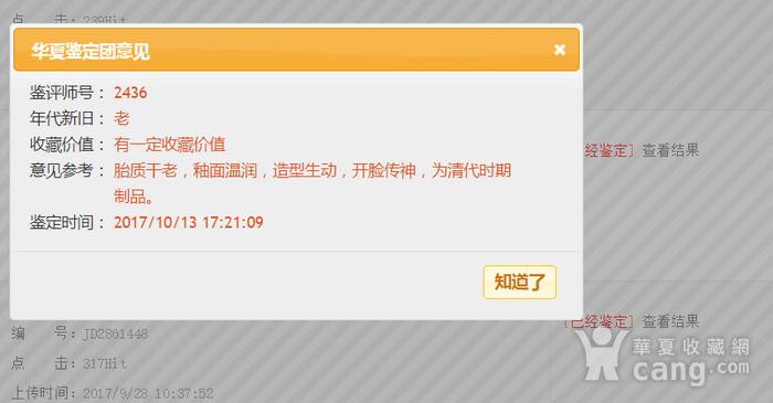 藏淘阁清代时期德化窑狮子油灯专家已经鉴定CN06图2