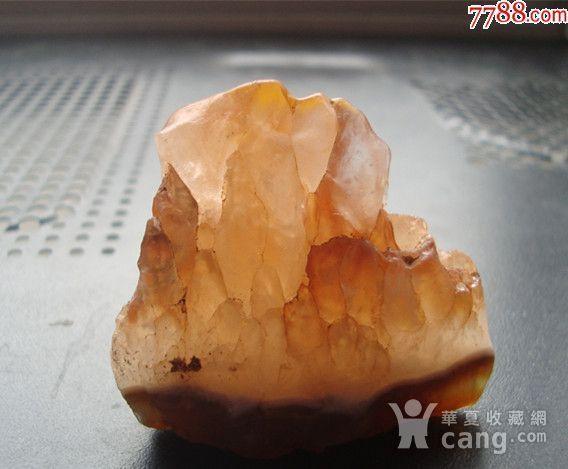 玛瑙底*水晶小摆件 山峦 图1