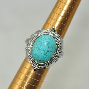 22.7克镶松石戒指