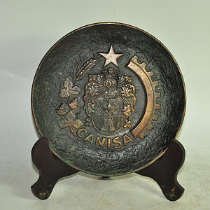 国外铸铜挂盘