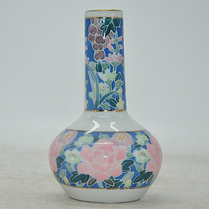中国醴陵釉下彩小花瓶