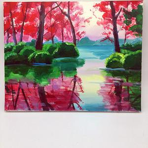 天津美院油画一幅