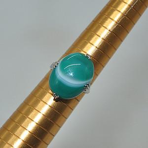 5.1克玛瑙玉髓戒指