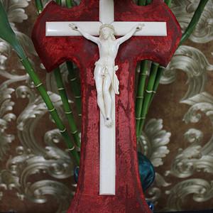 重器 18世纪 耶稣受难记雕件