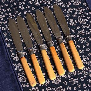 特殊材质 回流餐刀一套6件