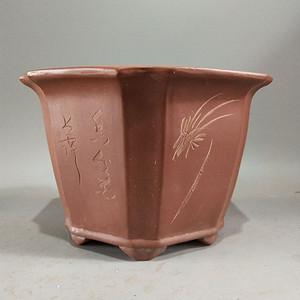 很不错的文革紫砂盆