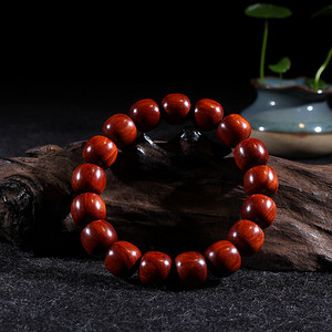 小叶紫檀12 13mm高密桶珠