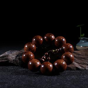 顶级老料海南黄花梨2.5手串