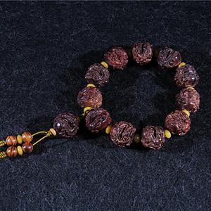 海南黄花梨紫油梨2.0《貔貅》手串