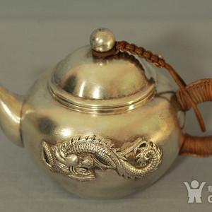 英国回流纯银茶壶