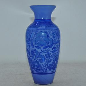 70年代琉璃赏瓶