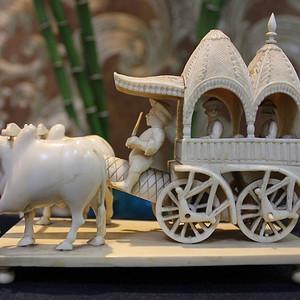 精致艺术 古印度18世纪雕件