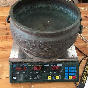 特大铜香炉