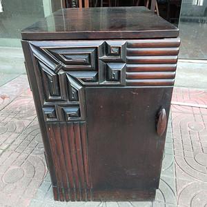 红酸枝小书柜