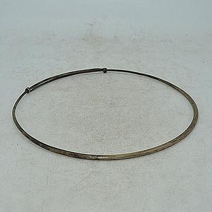 120克白铜老项圈