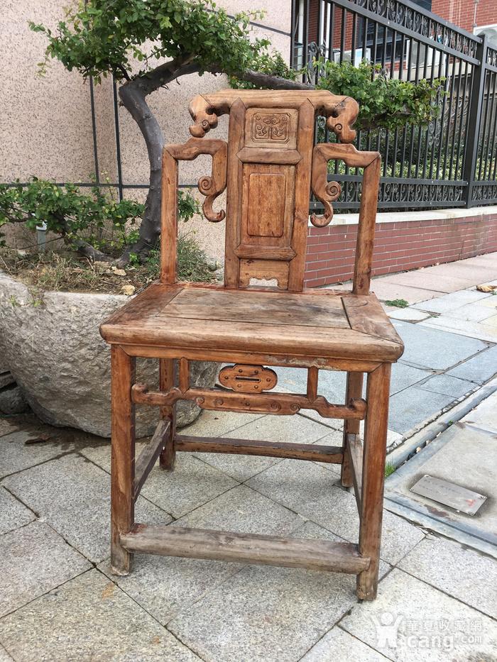 全榉木椅子一把图1