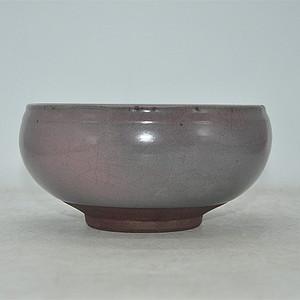 日本茶道灰釉大茶碗
