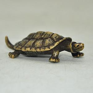 铸铜龟小摆件