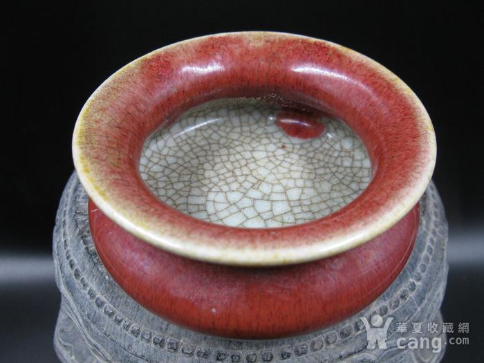 红釉香炉图3