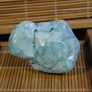 天然绿松石原石41.3克