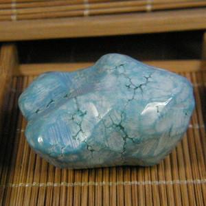 天然绿松石原石55.9克
