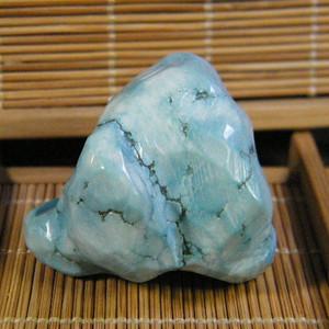 天然绿松石原石60.3克