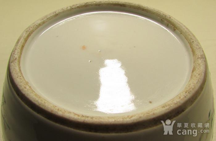 同治描金细路粉彩粥罐图7