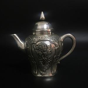 海外回流 银酒壶