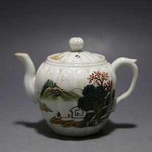 金牌 民国.精致粉彩小茶壶