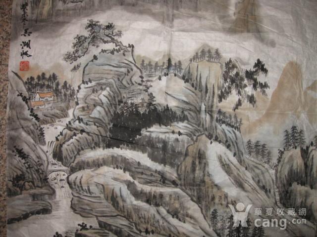老山水画。69 69厘米图2