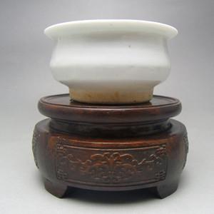 54.清代 德化文房白釉琴炉