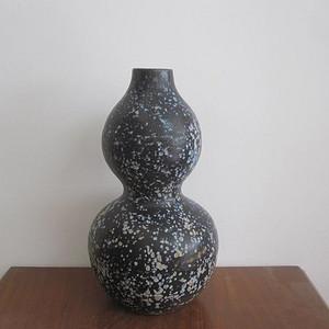 黑釉满天星葫芦瓶