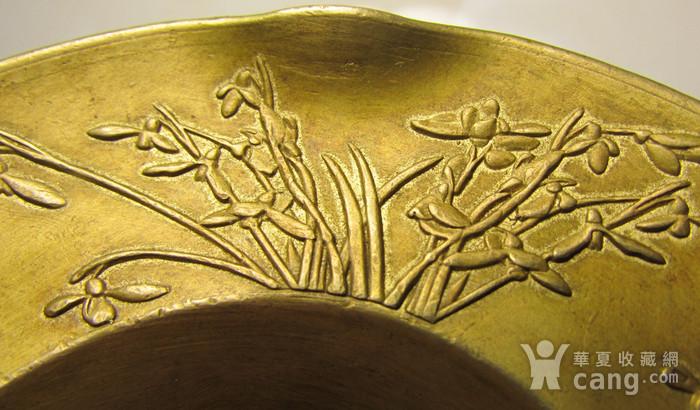 铜花口盘图4