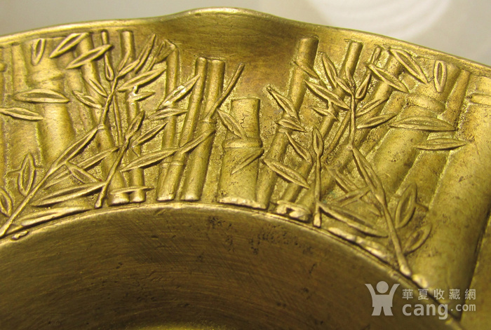 铜花口盘图5