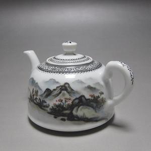 四十年代 粉彩茶壶