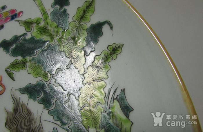 创汇期粉彩麒麟盘图4