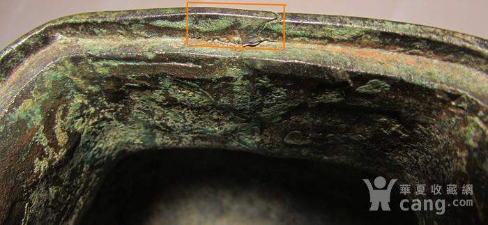 老铜錾刻人物故事狮钮天鸡图9