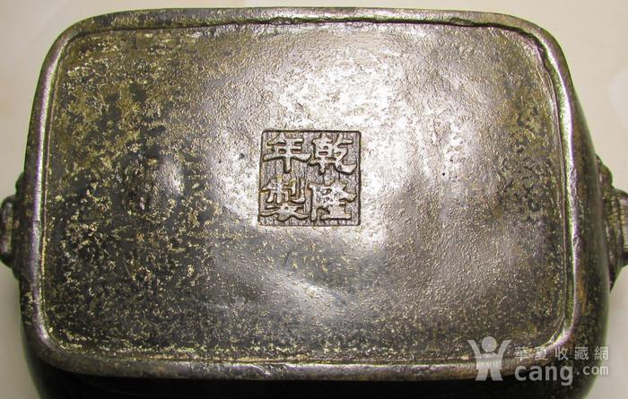 老铜錾刻人物故事狮钮天鸡图11