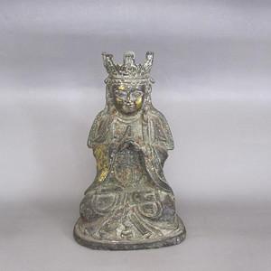 清晚期铜佛造像