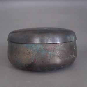 清代铜盖钵