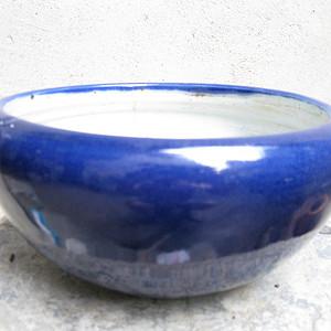 宝石蓝釉大香炉