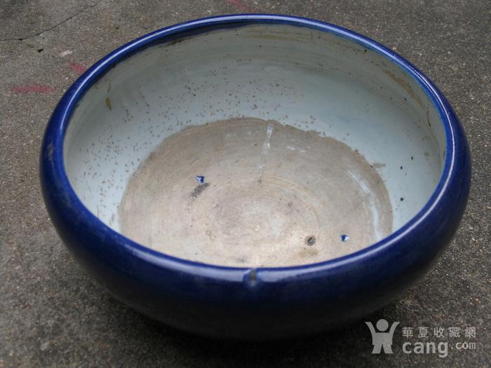 宝石蓝釉大香炉图3