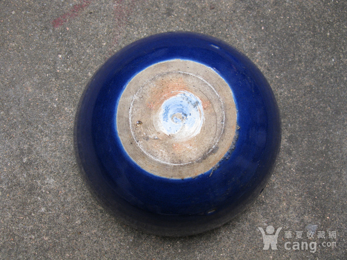 宝石蓝釉大香炉图7