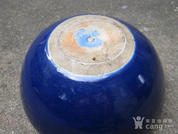 宝石蓝釉大香炉图9