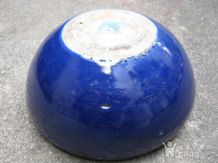 宝石蓝釉大香炉图10