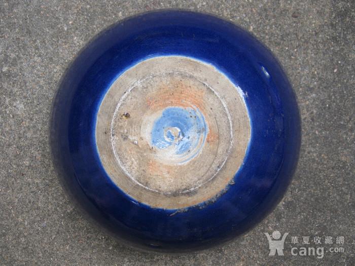 宝石蓝釉大香炉图11